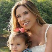 Mulher de Silvio Santos paparica a neta Jane, filha de Patricia Abravanel. Vídeo