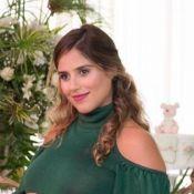 Grávida, Camilla Camargo ganha 14kg e adapta closet:'Nem vestidos largos cabiam'