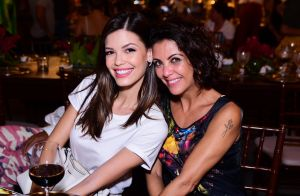 Thaynara OG recebe namorado sertanejo e mais famosos em jantar de São João
