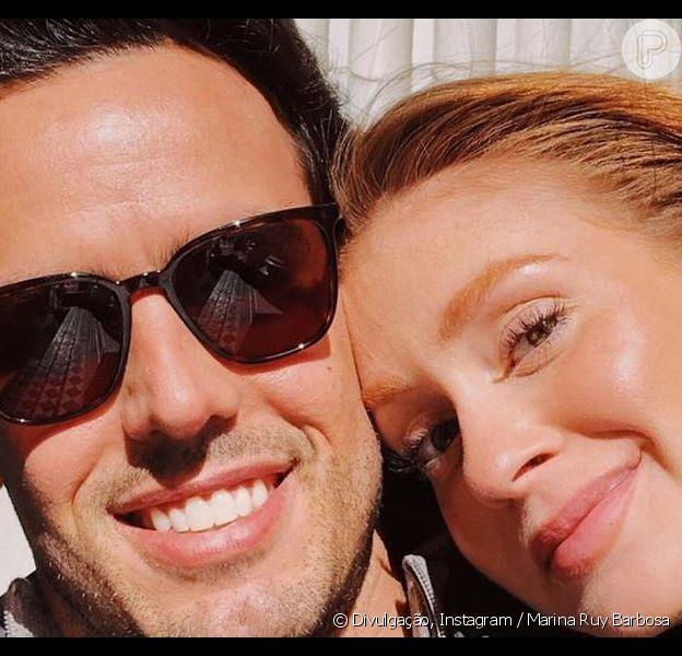 Marina Ruy Barbos viajou com o marido, Xandinho Negrão, para São Francisco, na Califórnia, nos Estados Unidos