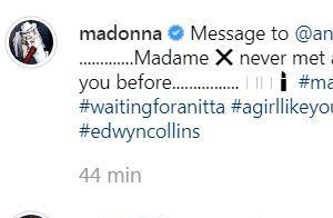 Madonna diz que nunca conheceu alguém como Anitta e artista vibra: 'Vou morrer'
