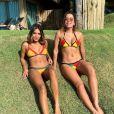 Anitta está curtindo as praias de um resort de Fortaleza, no Ceará