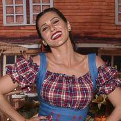 Lívia Andrade dança até o chão ao comemorar aniversário com festa junina. Vídeo!