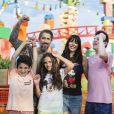Marcos Mion destaca cuidado dos filhos Donatella e Stefano nos parques da Disney
