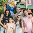 Marcos Mion e Suzana Gulo não abrem mão de momentos em família: ' Temos momentos muito importantes pra nossa família dentro dos parques da Disney!'