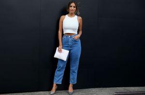 Direto dos anos 90: 10 looks para te inspirar a usar a calça jeans reta