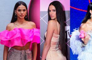 Bruna Marquezine faz piada sobre mudanças de look em prêmio. Entenda!
