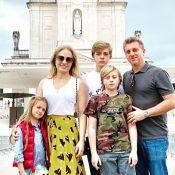Angélica e Huck vão ao Santuário de Fátima agradecer vida do filho: 'Ele venceu'