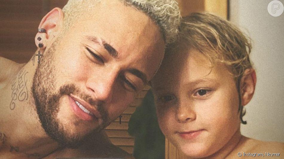 Davi Lucca, filho de Neymar, gravou um vídeo participando do desafio Bottle Cap Challenge