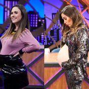 Grávida fashion & comfy: stylists detalham looks de Tatá Werneck no 'Lady Night'