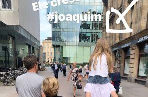 Angélica fica encantada ao ver atitude de Joaquim com Eva em viagem. Foto!