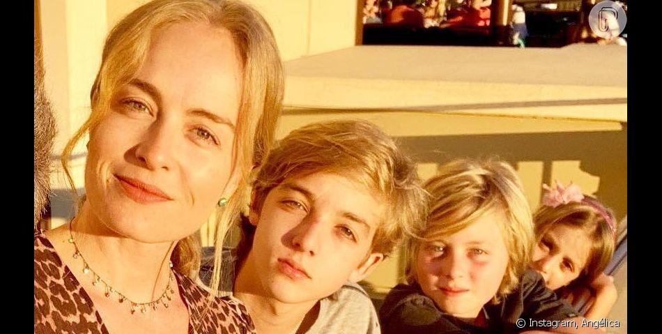 Filho de Angélica e Huck, Joaquim encanta mãe com atitude diante de irmã. Veja foto postada pela apresentadora no Instagram Stories