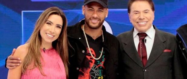 Patrícia Abravanel elogia Neymar e Silvio Santos zoa: 'Ta te chifrando, Fábio'
