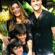 Juliana Paes comemorou de maneira intimista os 6 anos do filho Antônio