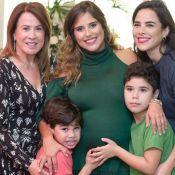 Camilla Camargo elegeu tema Floresta Amazônica em quarto na maternidade. Veja!