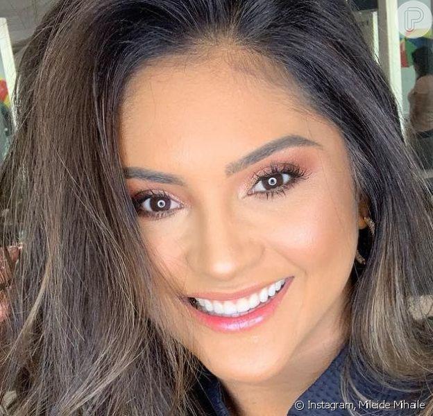 Mileide Mihaile abriu o jogo sobre fim do namoro com cantor Wallas Arrais nesta quarta-feira, 24 de abril de 2019