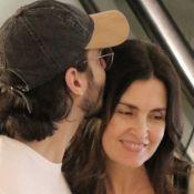 Fátima Bernardes e Túlio Gadêlha namoram durante passeio em shopping. Fotos!