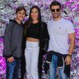 Carla Prata falou sobre relação do filho, Kauê, com o sertanejo Mariano