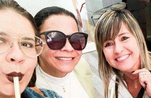 Marilia Mendonça vai às compras com mãe e sogra: 'Vovós mais gatas do Brasil'