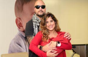 Camilla Camargo aponta semelhança de 1º filho com Zezé di Camargo: 'A boca'