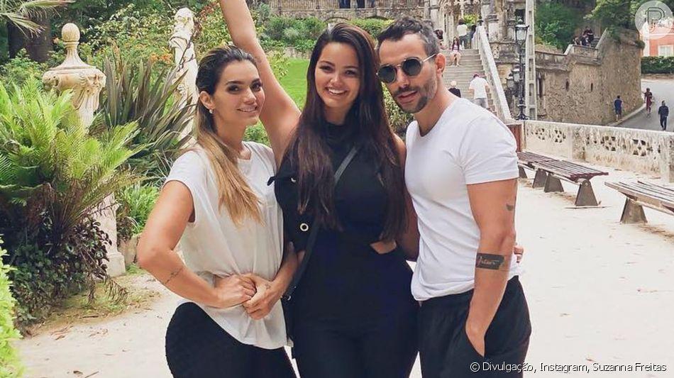 Filha de Kelly Key, Suzanna Freitas avalia relação do namorado com os pais, Latino e Mico Freitas, nesta quarta-feira, dia 07 de agosto de 2019