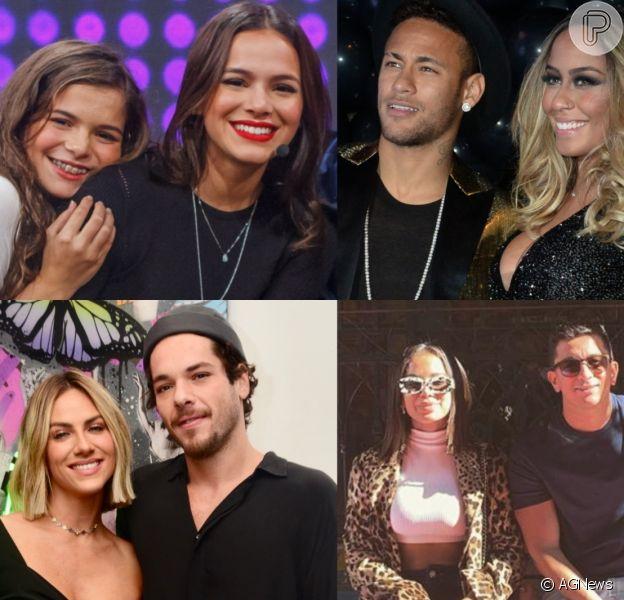 Luana Marquezine, Rafaella Santos, Gian Luca Ewbank: confira galeria de irmãos de famosos sucesso da web
