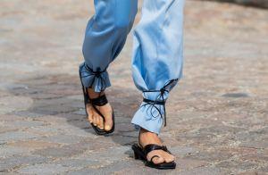 Truque de styling novo jeito de usar a sandália de tiras vai te surpreender