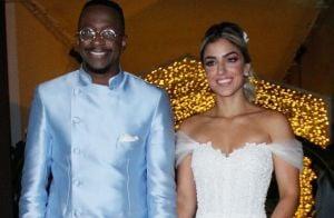Noiva de Mumuzinho, Thainá Fernandes usa vestido com 10 mil cristais e pérolas