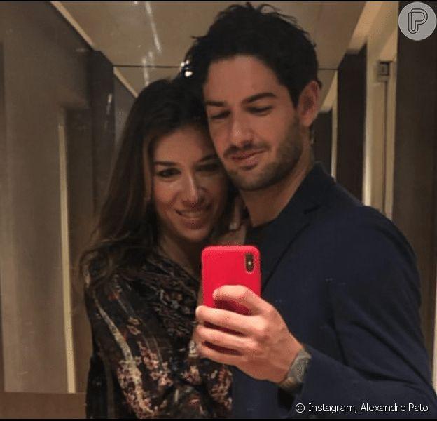Alexandre Pato foi surpreendido pela mulher, Rebeca Abravanel, em aniversário nesta segunda-feira, 2 de setembro de 2019