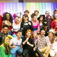 Atores da novela 'As Aventuras de Poliana' estava entre os convidados da festa de Sophia Valverde