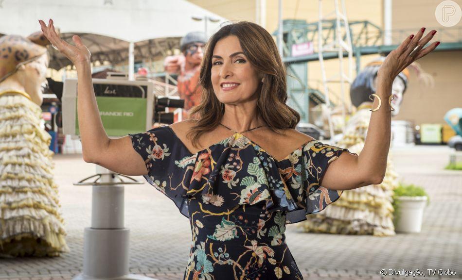 Fátima Bernardes surpreende internautas por semelhança com a irmã, Vânia
