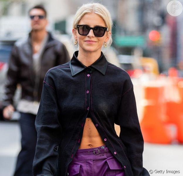 Inspire-se em 5 looks cheios de tendências do street style da Semana de Moda de Nova York!