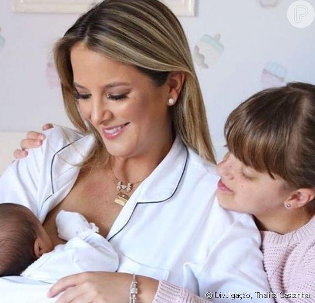 Ticiane Pinheiro destacou sintonia de Rafaella Justus com a irmã, Manuella: 'Quer cuidar, trocar fralda, dar banho'