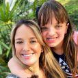 Ticiane Pinheiro negou que Rafaella Justus tenha tido ciúme da irmã, Manuella: 'Apaixonada pela Manu'