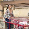 Na novela 'A Dona do Pedaço', Maria da Paz (Juliana Paes) fica feliz ao saber que tem conexão de outras vidas com Joana (Bruna Hamú)