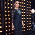 Vestido preto: Ivete Sangalo usou modelo com renda e aplicação de cristais para o 'The Voice Brasil'