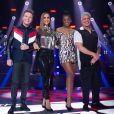 Look de Ivete Sangalo: cantora apostou em blusa prata e calça com brilho para o 'The Voice Brasil'