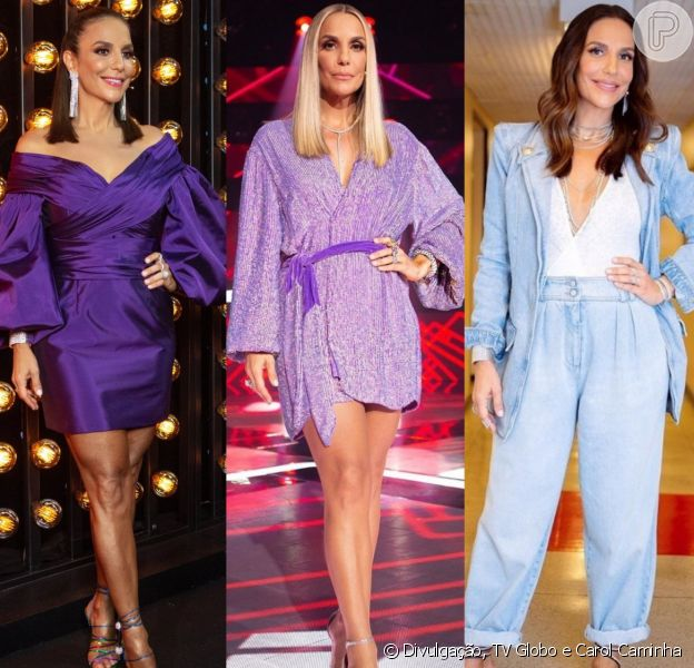 Looks de Ivete Sangalo: cantora usa tendências das passarelas e do street style internacionais no palco do 'The Voice Brasil'