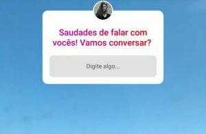 Marina Ruy Barbosa conversa com fãs e cita dificuldade de 2019: 'Sobreviver'