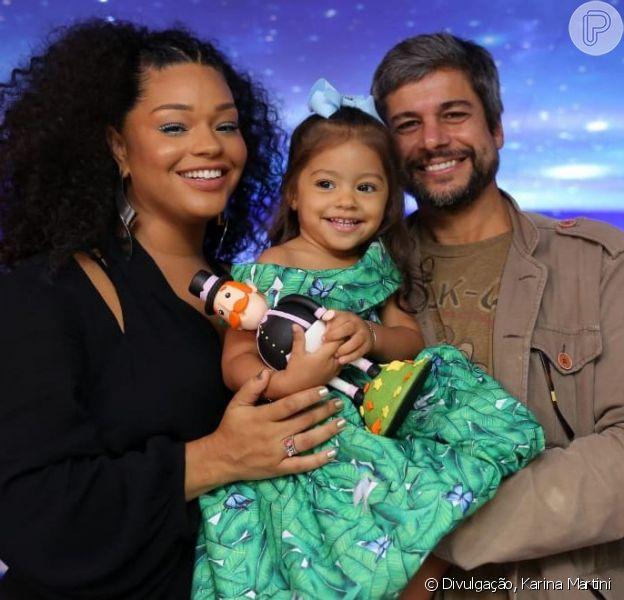 Juliana Alves comemorou o aniversário da filha, Yolanda, neste domingo, 22 de setembro de 2019