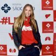 Adriane Galisteu participou de evento da campanha #likepelavida