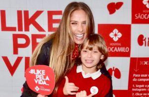 Filho de Adriane Galisteu chama atenção por semelhança com mãe em evento. Fotos!