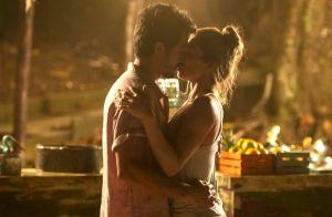 'Bom Sucesso': Paloma e Marcos ficam mexidos após abraço em noite de ano novo