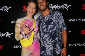 Só amor! Casais famosos curtem o Rock in Rio 2019 e posam para fotos em festival