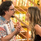 'Bom Sucesso': Mario leva toco e passa a noite de ano novo com Silvana