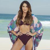 Patrícia Poeta lança linha beachwear e estrela campanha: 'Questão de ser modelo'