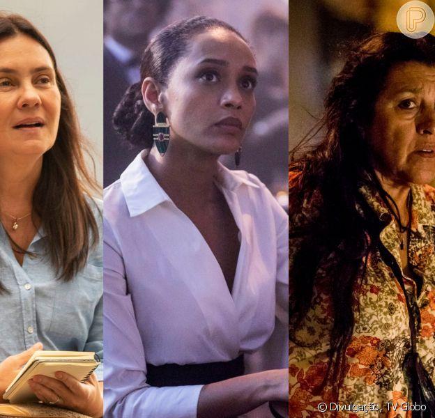 A novela 'Amor de Mãe' contará a história de Vitória (Tais Araújo), Thelma (Adriana Esteves) e Lurdes (Regina Casé). A estreia é prevista para 25 de novembro de 2019