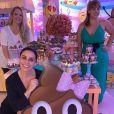 Giovanna Antonelli mostra decoração da festa das filhas, Sofia e Antonia