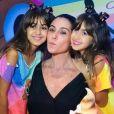 Giovanna Antonelli faz festa com curioso para filhas Sofia e Antonia