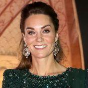Kate Middleton brilha em look com cristais e é comparada a princesa da Disney